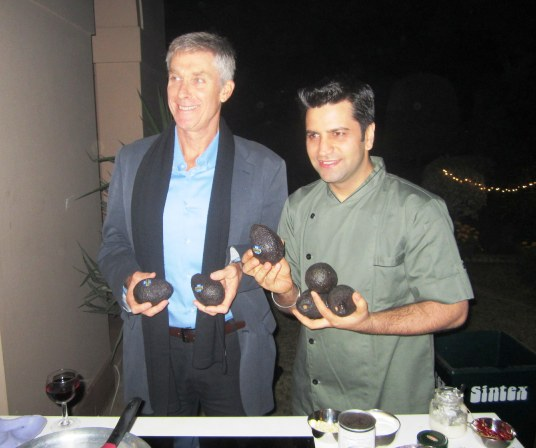 Richard White, Trade Commissioner, New Zealand and Chef Kunal Kapur