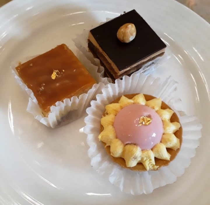 French pastries at L'Opera