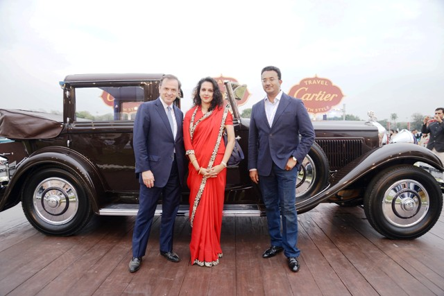 winner of Cartier Travel with style 2015, delhi