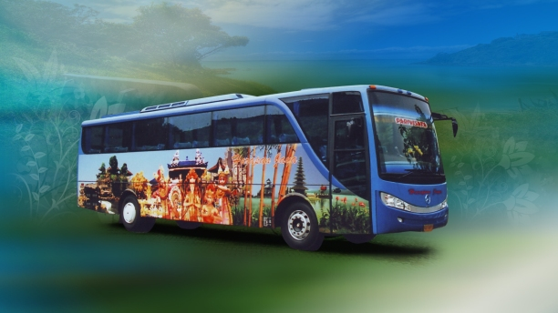 travel bus,