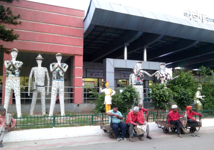 Chandigarh Railway Station, India