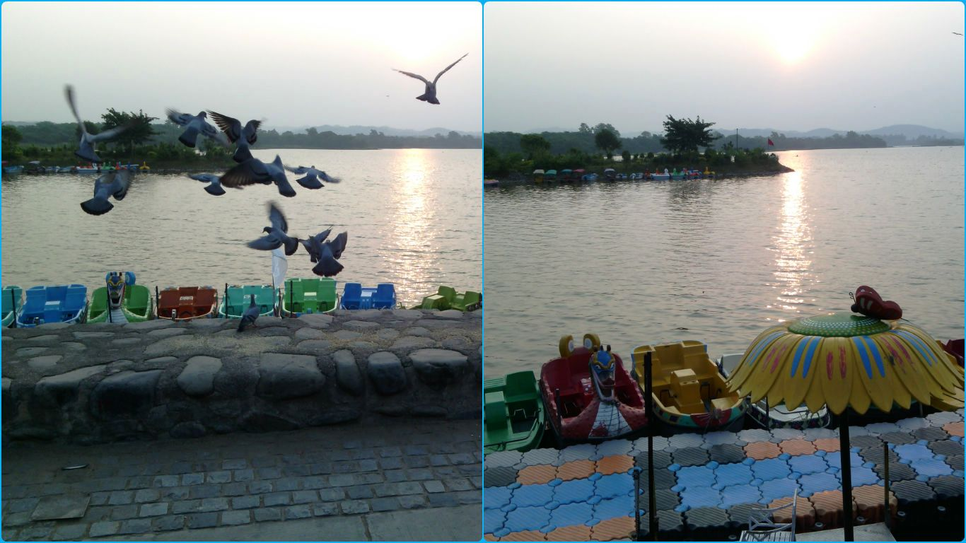 Early Morning at Sukhna Lake, Chandigarh, India