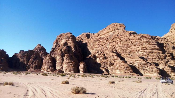 the hills overwhelm at wadi rum