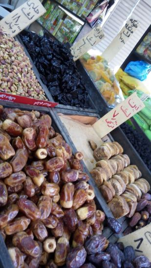 dates and spices