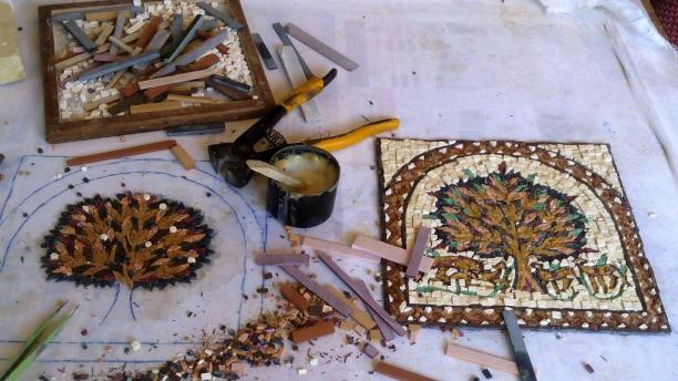 how to make mosaic art