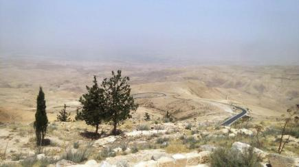 View of the promised land from Mount Nebo, Jordan