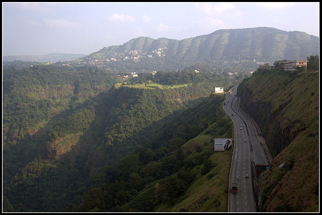 View of Western Ghats by Nagesh Kamath from Bangalore, wikipedia