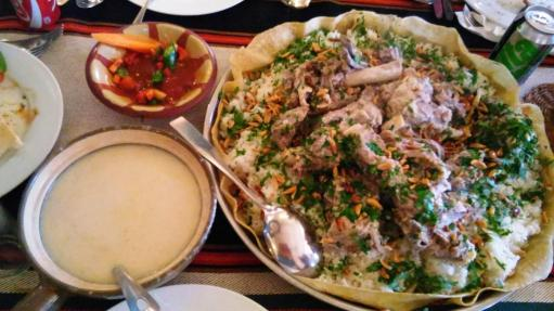 National dish mansaf
