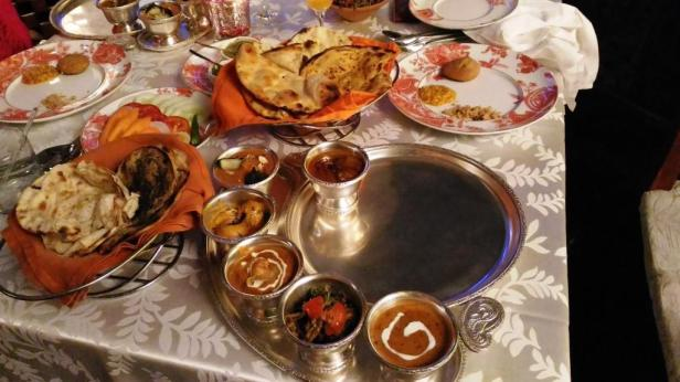 Royal thali at Made in India
