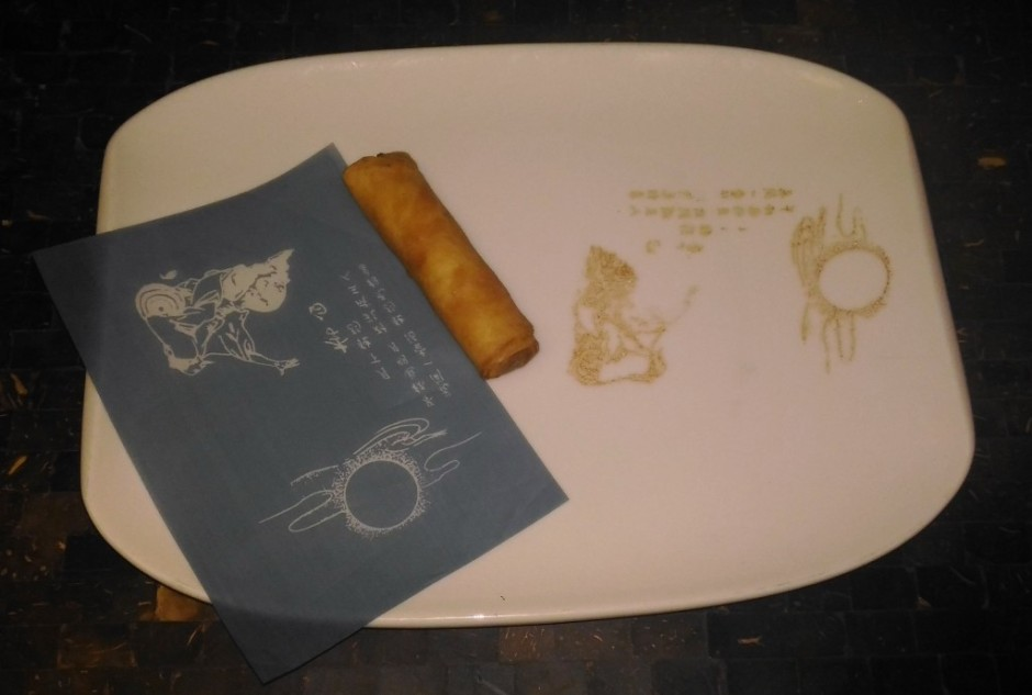 Decorrated plate at House of Han