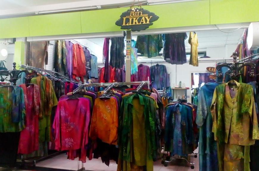 Shop at Likay in Bangkok, Thailand