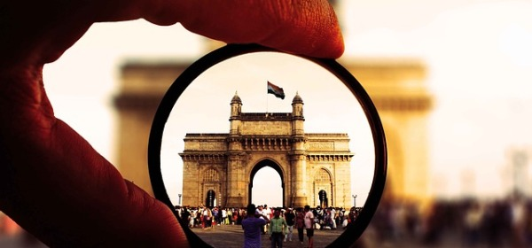 Mumbai's Gateway of India through a lens; Picture credit: Pixabay