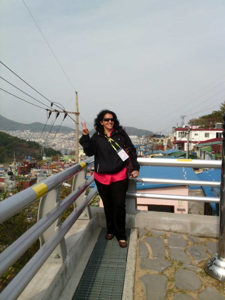 Happiness at Gamcheon Village, South Korea