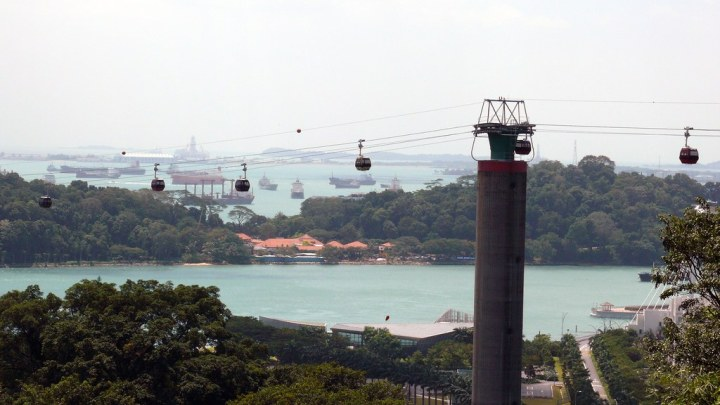 Mount Faber Cable Car, Singapore