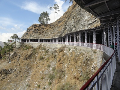 Walkway, Vaishno Devi, Picture courtesy: Shrine Board official website