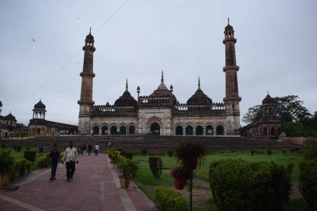 Mosque inside Bara Imambara, Lucknow, Uttar Pradesh, India