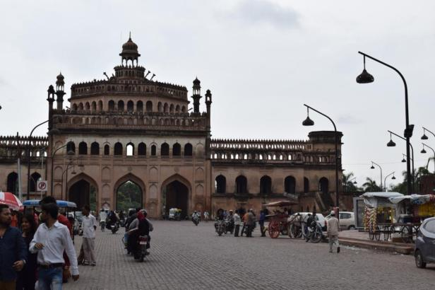 Rumi Darwaza, west entrace of Bara Imambara, Lucknow, India