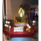 Bedazzled By Diwali Lights At Delhi's Swanky Airport