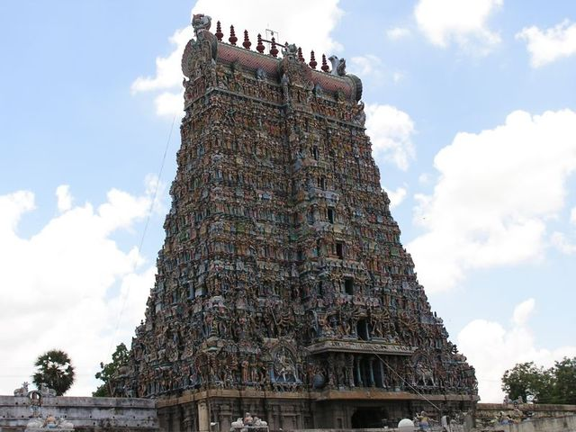 Temple tower, Madurai, Photo: Susush; Source: FreeImages