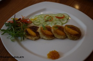 Indian Cuisine--Dahi kebab with orange, The Metropolitan Hotel & Spa , Delhi, India