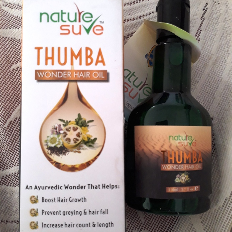 Thumba Hair Oil by Nature Sure