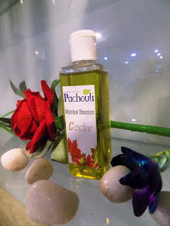 cedar wood oil by pachouli