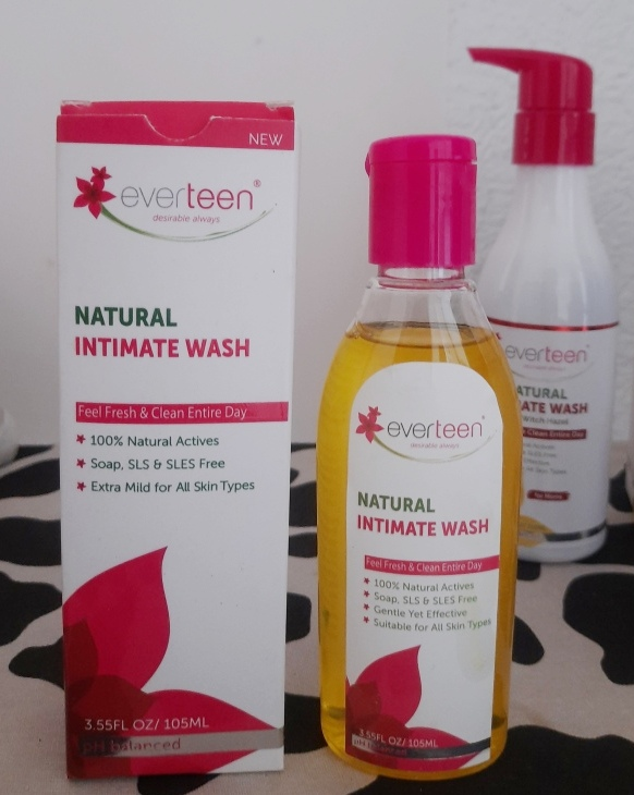 everteen normal intimate wash