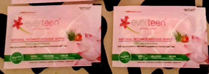 everteen Natural Intimate Wipes