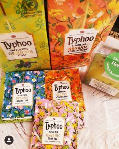 Typhoo teas in India