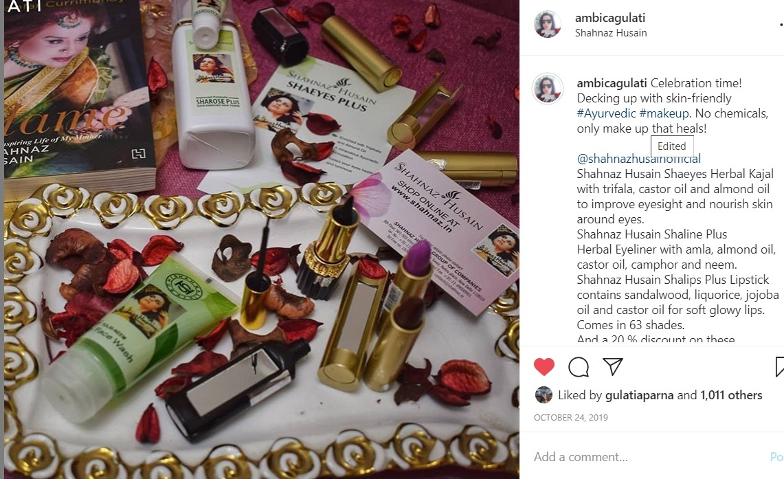 Shahnaz Husain products