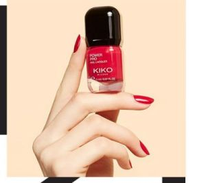 Kiko Milano nail paints
