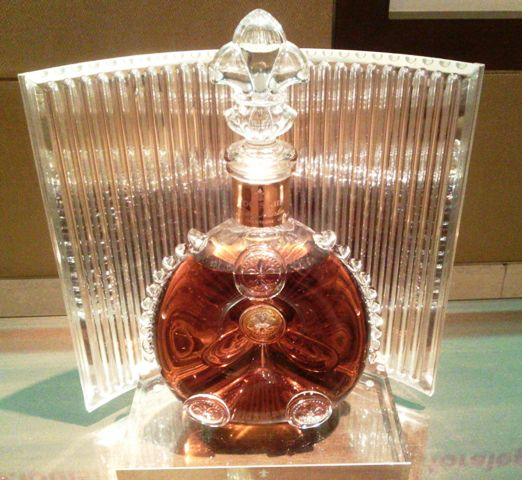 Louis XIII cognac from the house of Rémy Cointreau