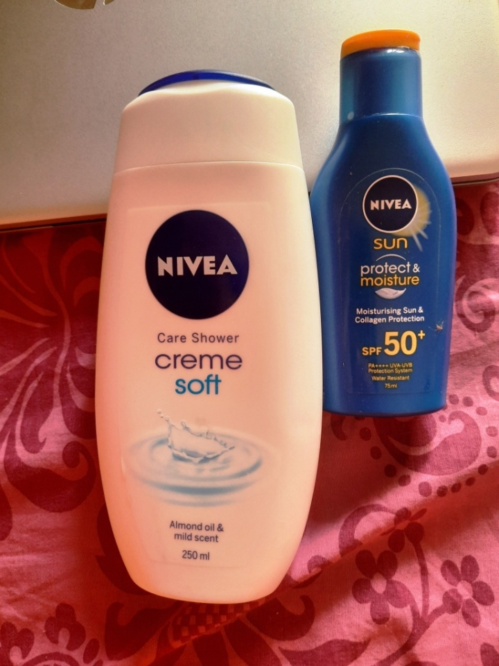 Nivea bodycare products