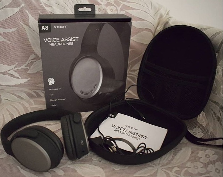 Xech wireless bluetooth Voice Assist headphones