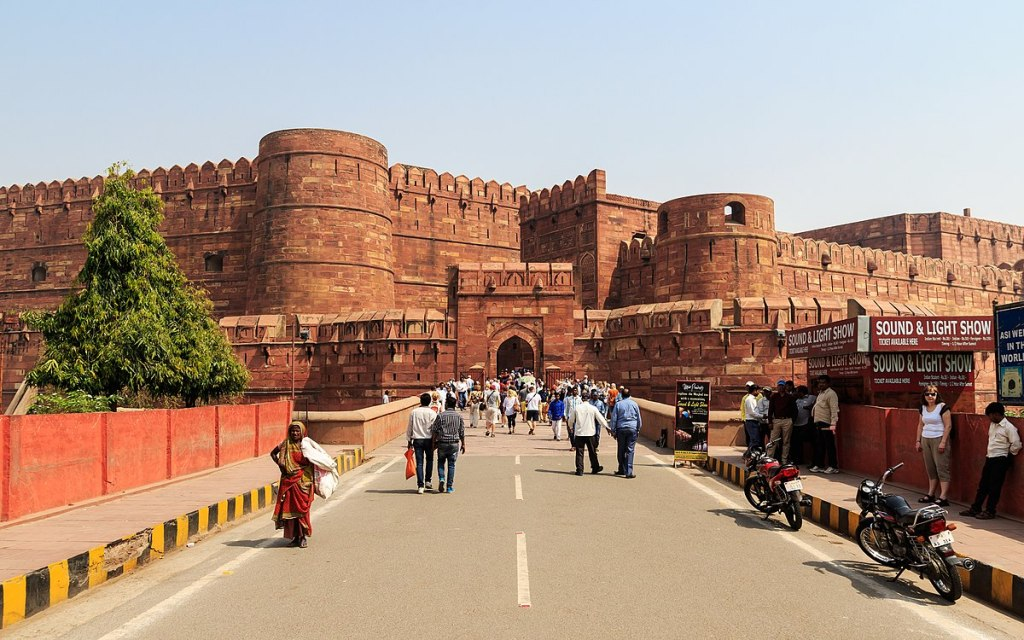 Agra Fort, Photo by A.Savin (Wikimedia Commons · WikiPhotoSpace)