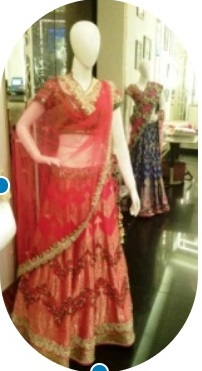 Banarasi bridal wear by Gautam Gupta, Delhi, India
