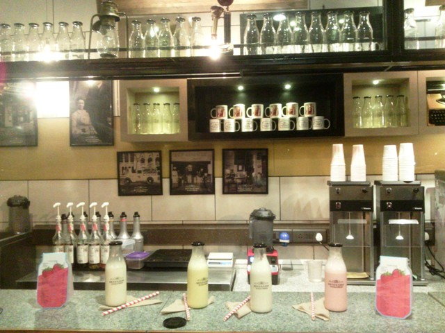Milkshakes and ice creams at Keventers, Delhi