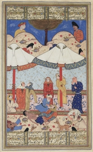16th century Layla and Majnu by Unknown author - Library of Congress, Public Domain, https://commons.wikimedia.org/w/index.php?curid=5751805
