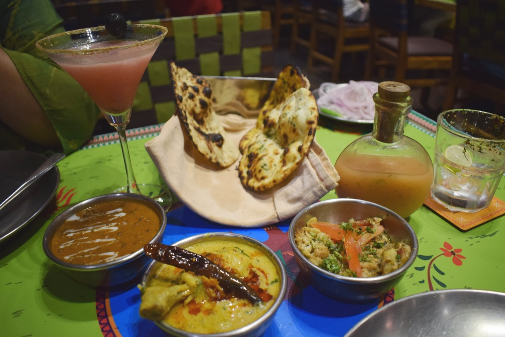 North Indian cuisine at Dhaba by Claridges, Epicuria Mall, Nehru Place, Delhi