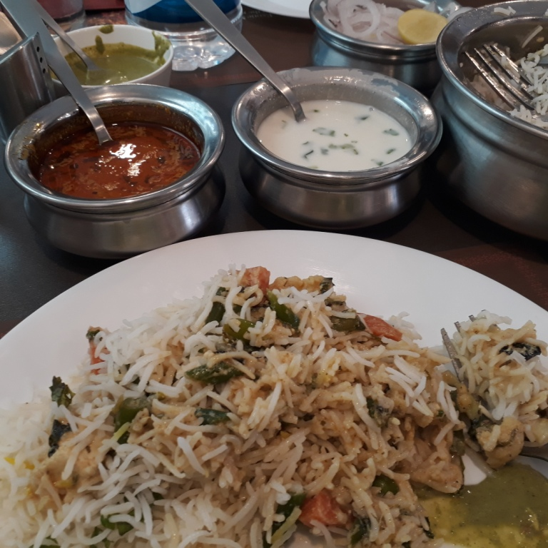 Hyderabad-style biryani at Paradise, Gurugram