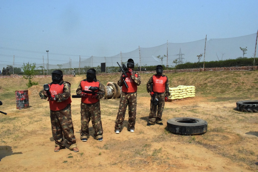 How soldiers get ready for the combat on the ground, Delta 105, Manesar, Gurgaon, Haryana, India