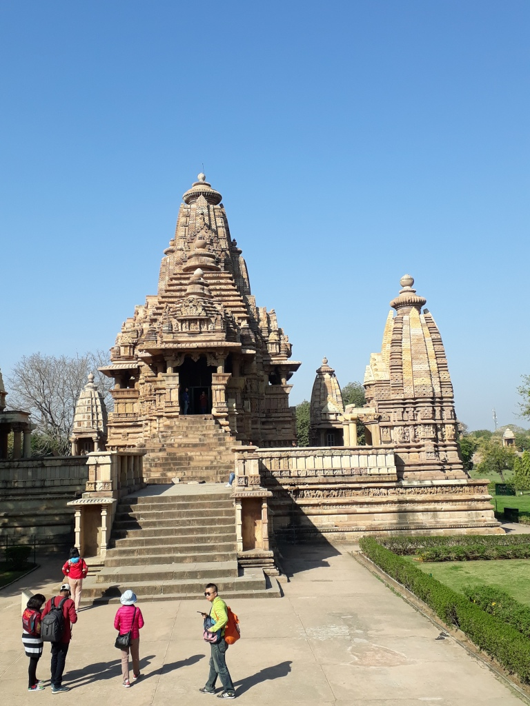 Khajuraho temples, Western group, Madhya Pradesh, India