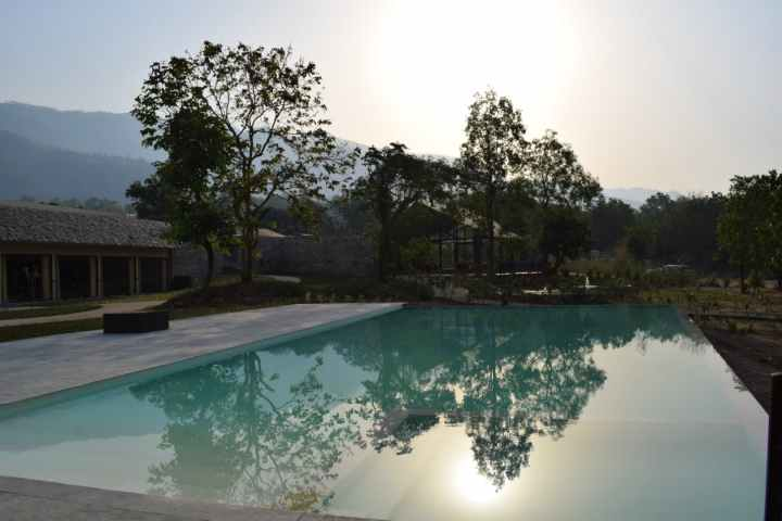 Swimming pool, lebua, jim corbett national park, Ramnagar, Uttarakhand, India