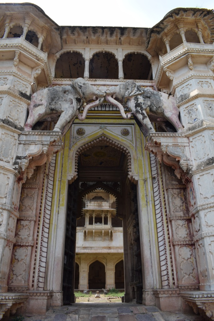 Entrance to Taragarh fort, Bundi, Rajasthan, India