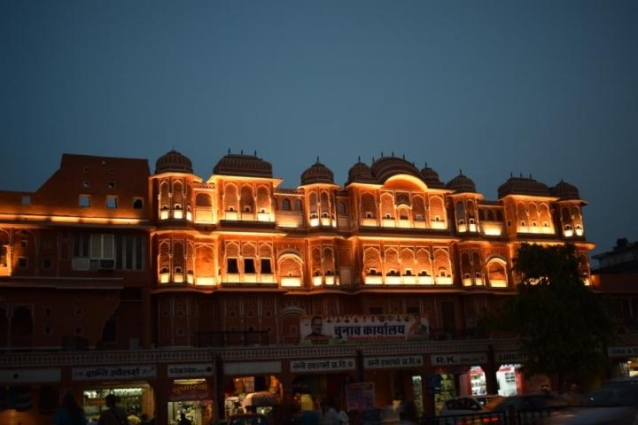 evening at bapu bazaar, Jaipur, Rajasthan, India