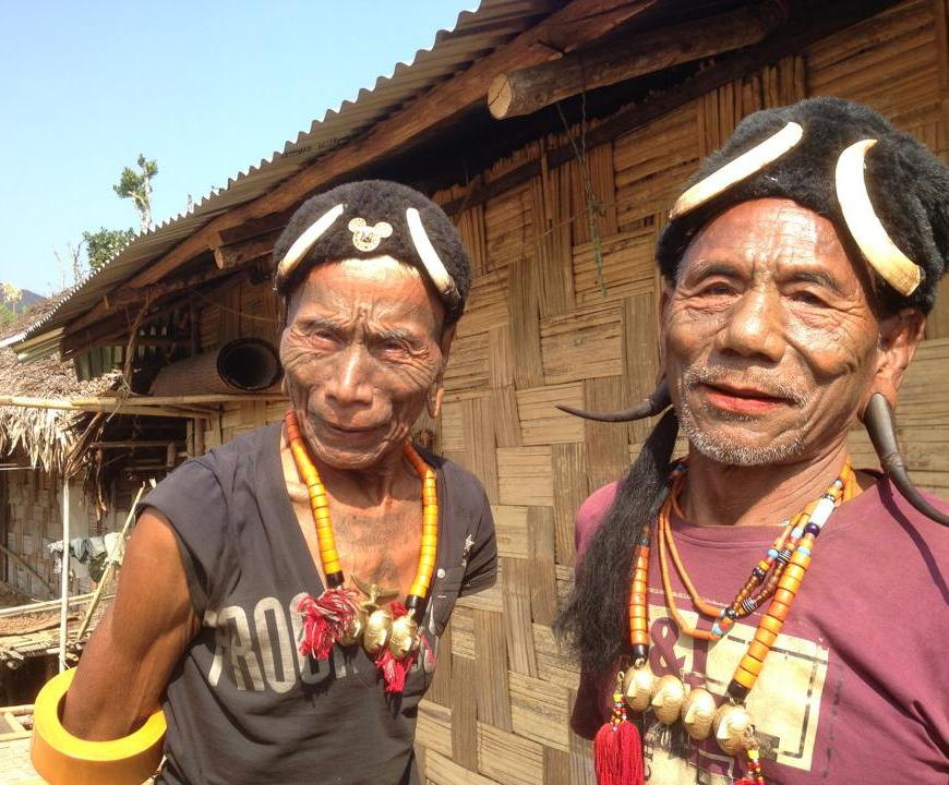 Tribal Headunters, Nagaland, India, Photograph: Digonta Bordoloi