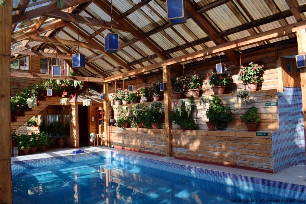Indoor Swimming pool, The Chalets, Naldehra, Himachal Pradesh, India