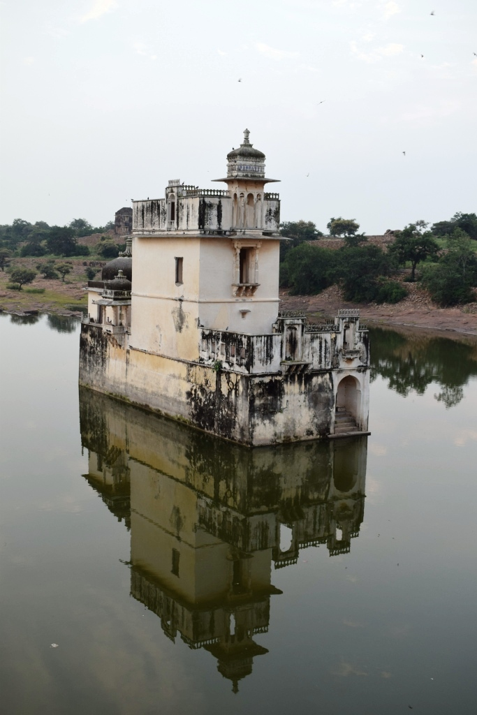 Padmini Mahal inside Chittorgarh fort, Rajasthan, India