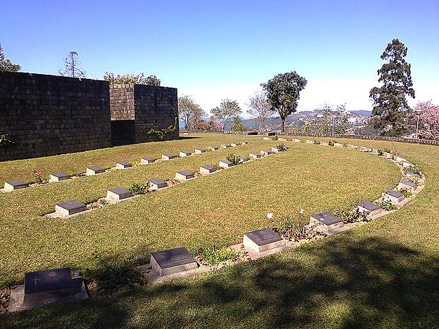 Second World War Cemetery Kohima, photo by By PP Yoonus - Own work, CC BY-SA 3.0, httpscommons.wikimedia.orgwindex.phpcurid=30017364