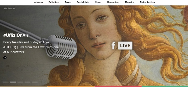 Uffizi Gallery i podcast, Florence, Italy, Europe